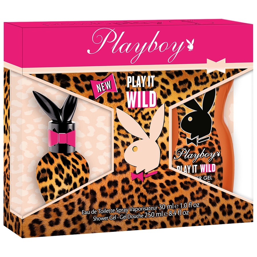 Playboy Damendüfte Play It Wild Geschenkset Eau de Toilette Spray 30 ml + Shower Gel 250 ml 1 Stk.