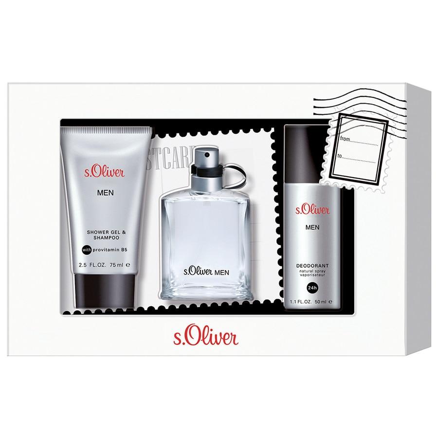 s.Oliver Herrendüfte Men Geschenkset Eau de Toilette Spray 30 ml + Deodorant Spray 50 ml + Shower Gel 75 ml 1 Stk.
