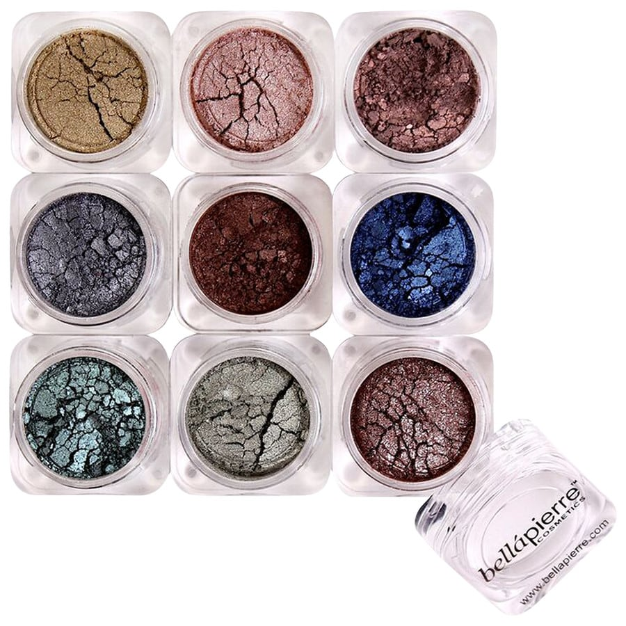 Bellápierre Cosmetics Make-up Augen 9 Stack Shimmer Powder Pandera