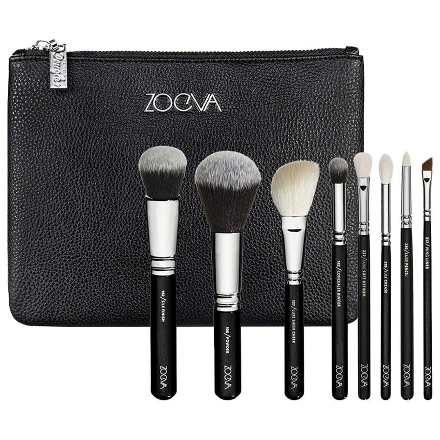 Zoeva Advanced Brush Set Gesichtspinsel Pinselset Online Kaufen Bei Dark Brown 8 Piece Bursh Bag Product