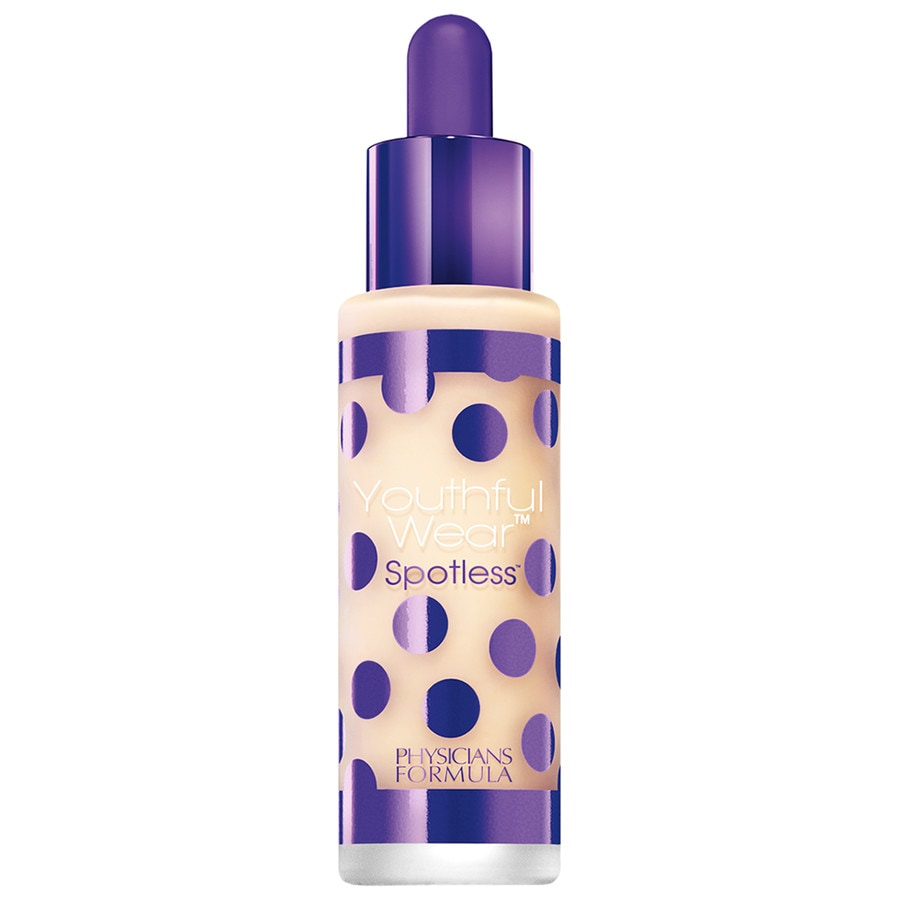 Physicians formula foundation youthful wear cosmeceutical youth boosting spotless foundation spf 15