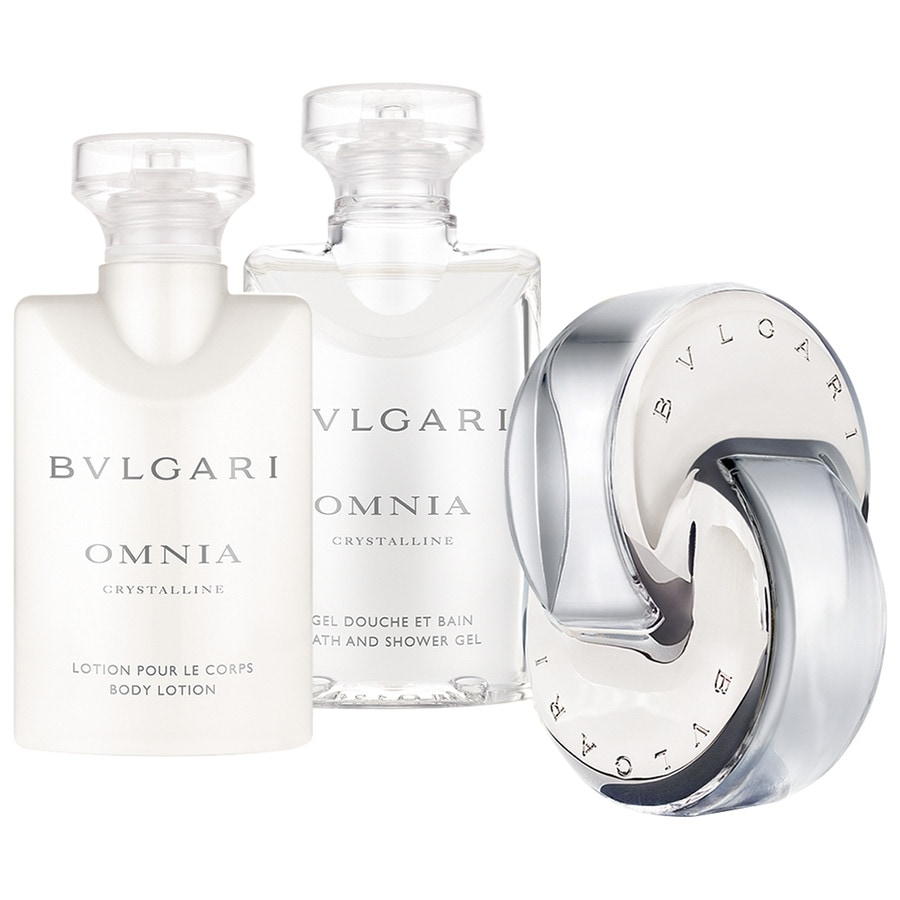 Bvlgari Damendüfte Omnia Crystalline Ancillaries Set Eau de Toilette Spray 40 ml + Body Lotion 40 ml + Bath and Shower Gel 40 ml 1 Stk.