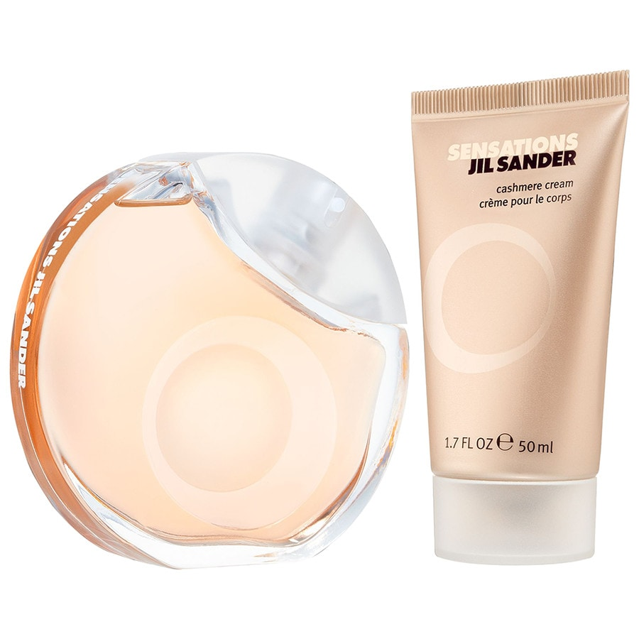 Jil Sander Damendüfte Sensations Geschenkset Eau de Toilette Spray 40 ml + Cashmere Cream 50 ml 1 Stk.
