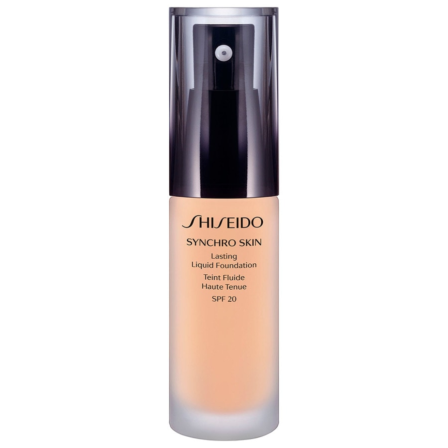 shiseido synchro skin lasting liquid foundation lsf 20 foundation foundation online kaufen bei. Black Bedroom Furniture Sets. Home Design Ideas