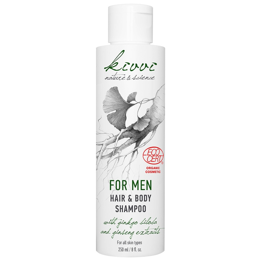 Hair & Body Shampoo with Ginkgo Biloba and Ginseng Extracts