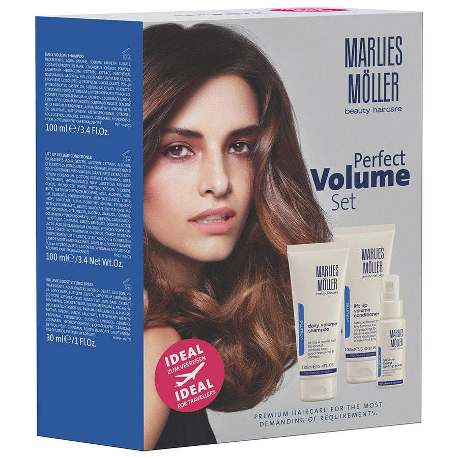 Marlies Möller Beauty Haircare Specialists Perfect Volume Set Daily Volume Shampoo 100 ml + Lift Up Volume Conditioner 100 ml + Volume Boost Styling Spray 30 ml 1 Stk.