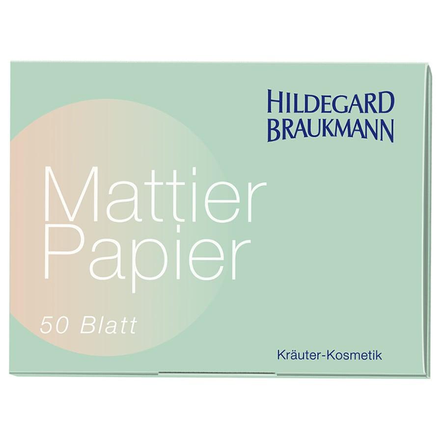Mattier Papier Pudertuch 1 Stück für Frauen