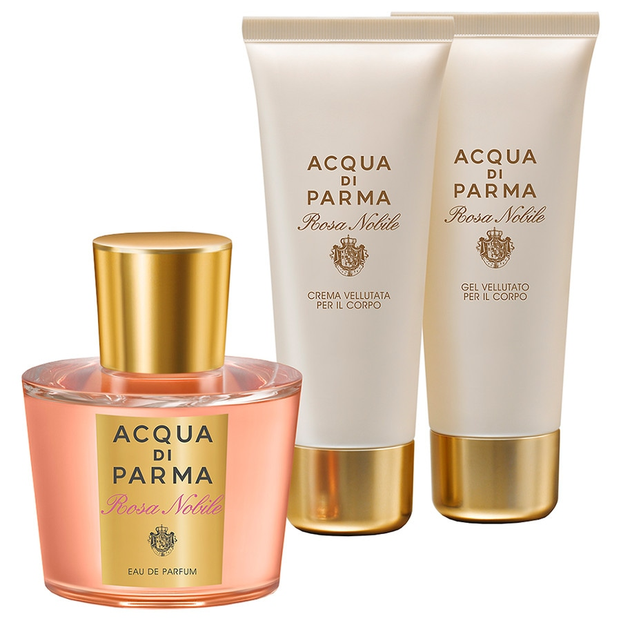 Acqua di Parma Damendüfte Rosa Nobile Geschenkset Eau de Parfum Spray 100 ml + Bath & Shower Cream 75 ml + Body Cream 75 ml 1 Stk.