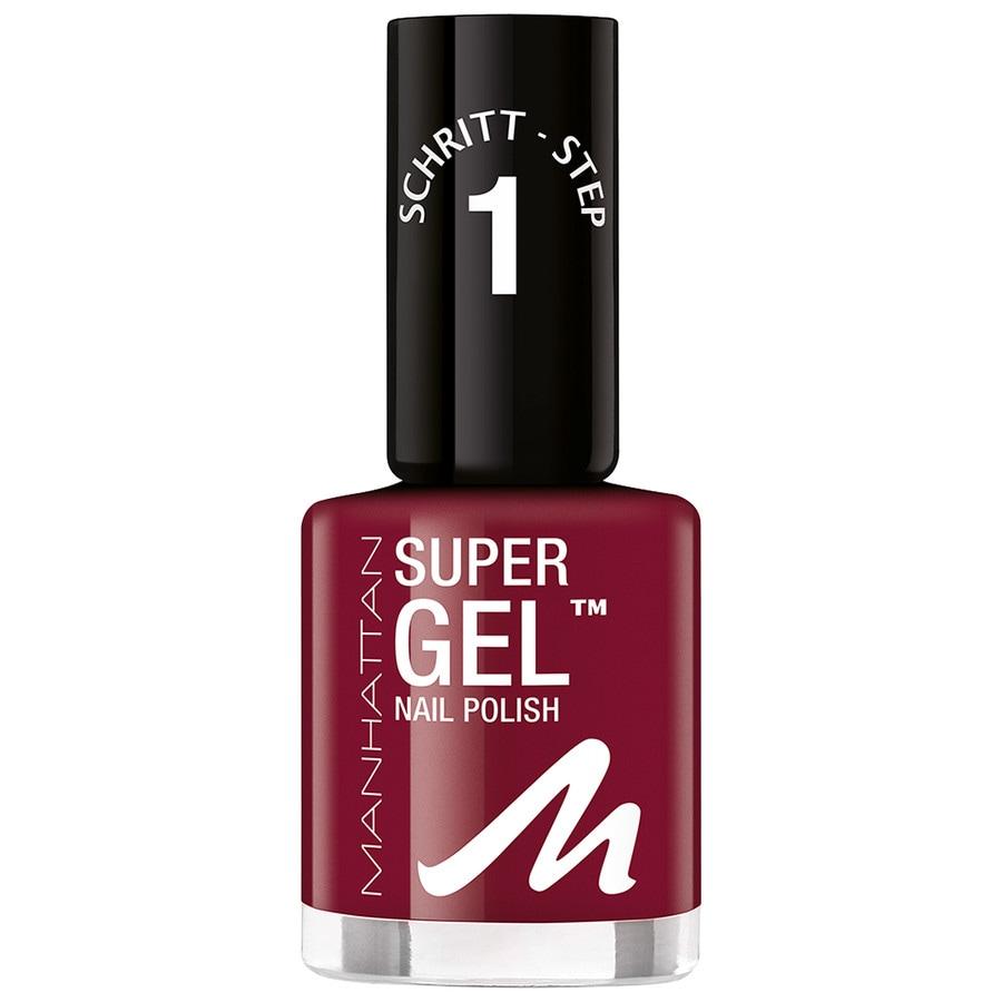 Manhattan Make-up Nägel Super Gel Nail Polish Nr. 685 Seductive Red