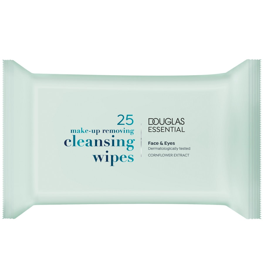 Douglas Essential Cleansing Mu Remover Wipes1159, 25 ST