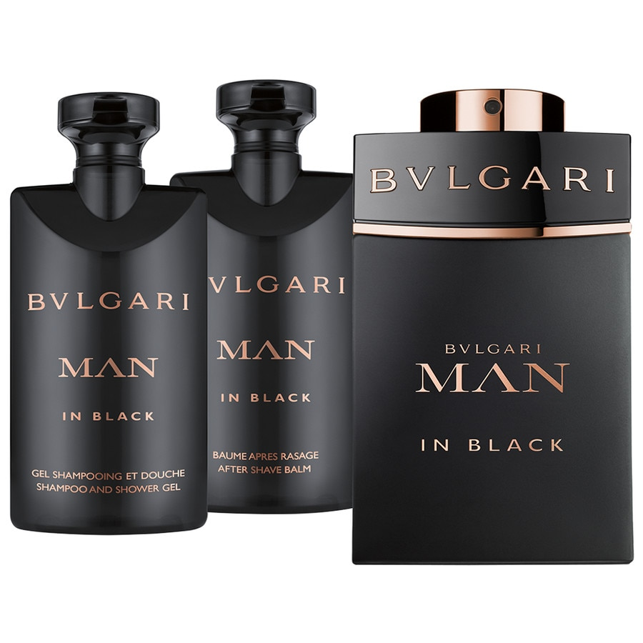 Bvlgari Herrendüfte Man in Black Ancillaries Set Eau de Parfum Spray 60 ml + Shampoo & Shower Gel 40 ml + After Shave Balm 40 ml 1 Stk.
