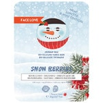 Face Love Snow Berries