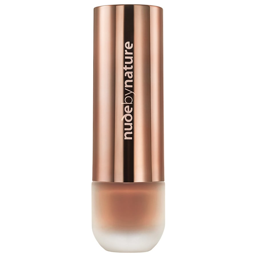 Nude by Nature Foundation Toffee Foundation