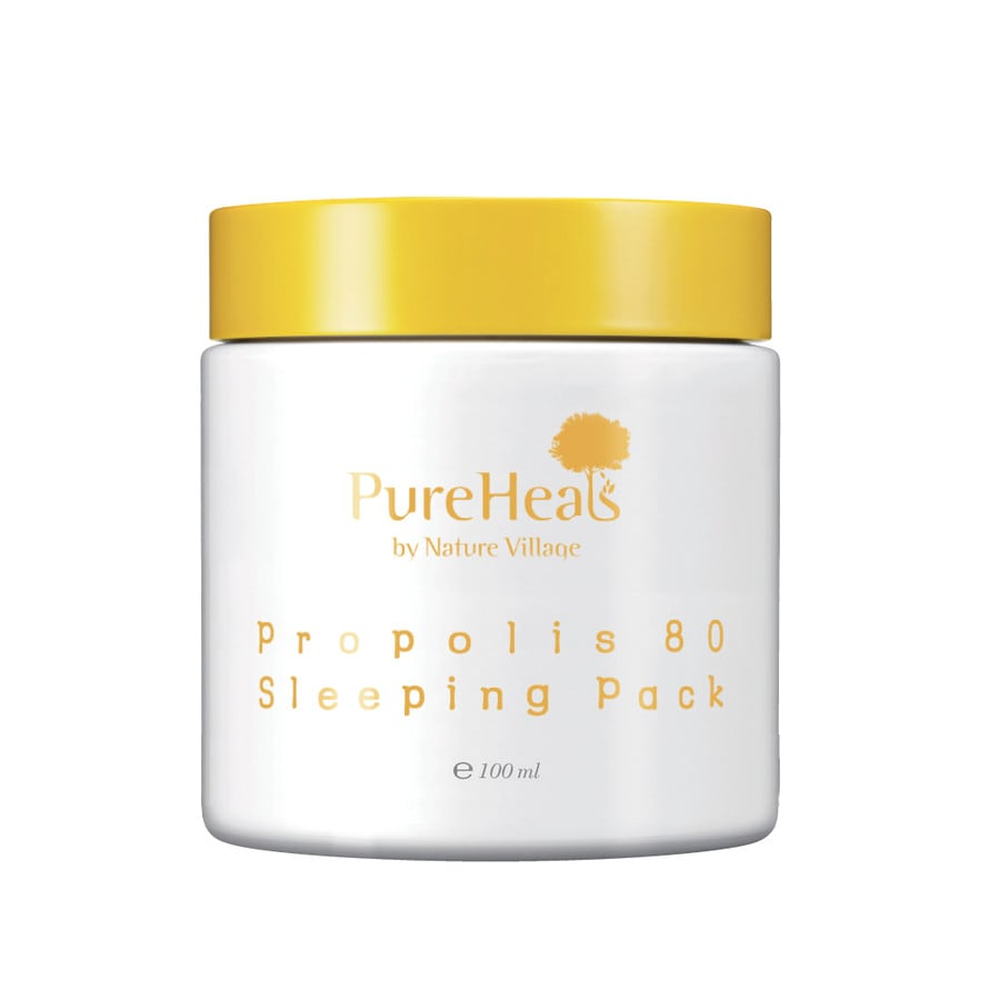Pureheals Propolis 80 Sleeping Pack Capsule Maske Online Kaufen Bei Volcanic Pore Tightening Mask 100ml Product