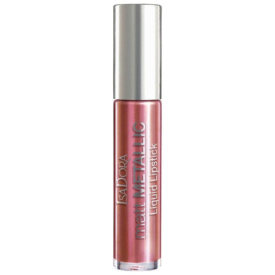 Isadora Liquid Lip Rose Metal Lippenstift
