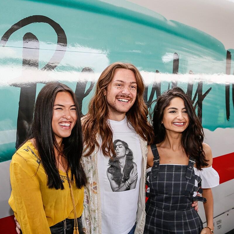 Jungfernfahrt des Douglas Beauty ICE mit Shanti Tan, Riccardo Simonetti, Ischtar Isik