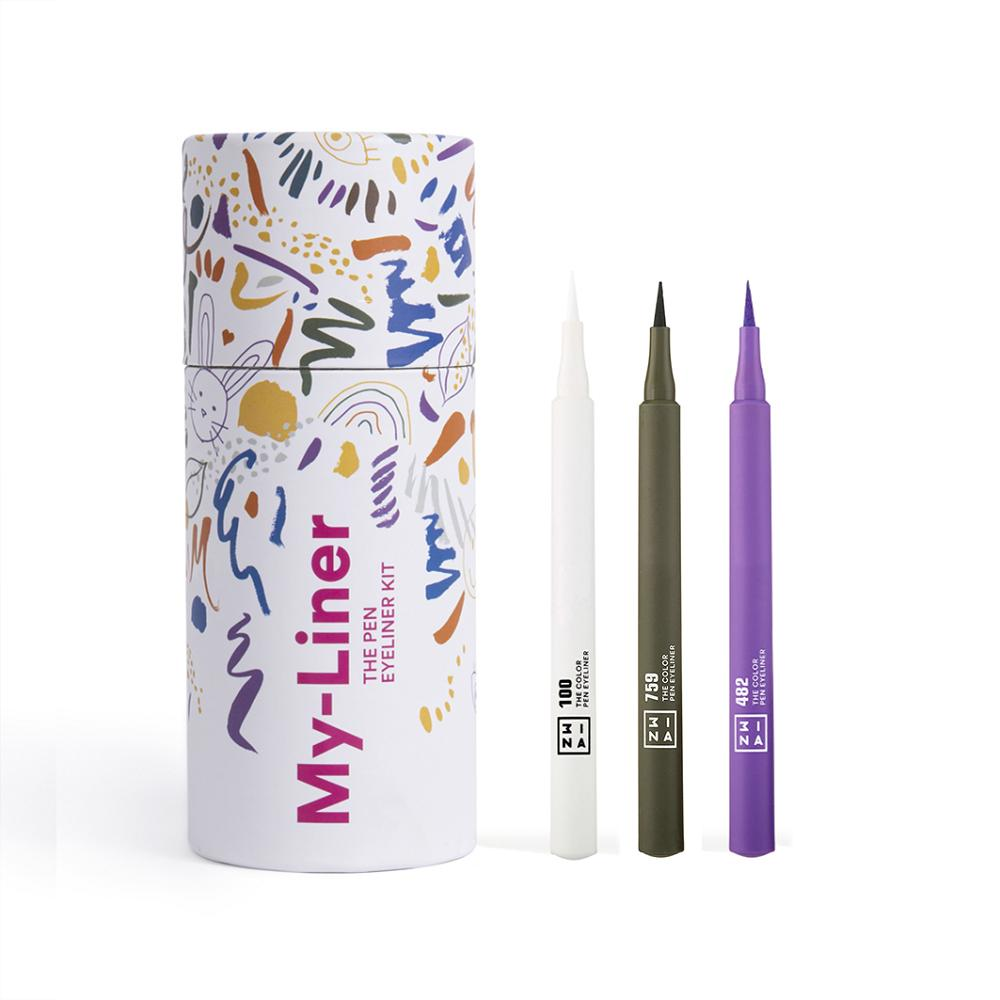 3INA  3INA My-Liner Kit 3 Eyeliner 1.0 pieces