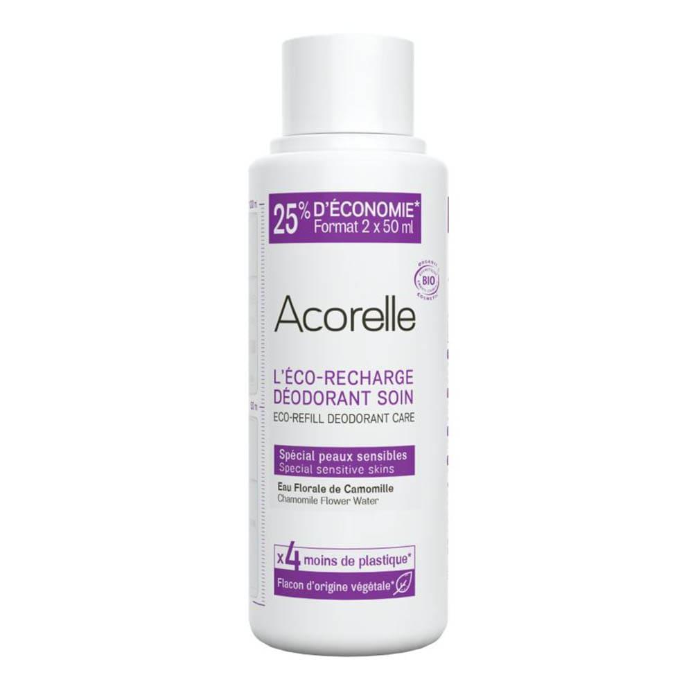 Acorelle  Acorelle Deo Roll-On - Sensible Haut Refill 100 ml Deodorant