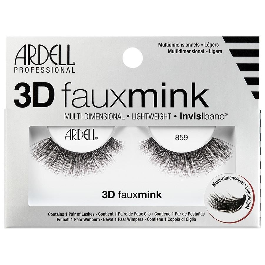 Ardell Faux Mink Ardell Faux Mink 3D Faux Mink 859 Künstliche Wimpern 1.0 pieces
