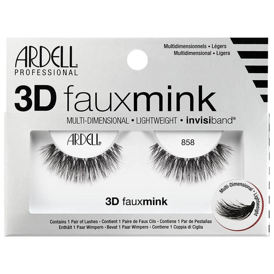 Ardell Faux Mink Ardell Faux Mink 3D Faux Mink 858 Künstliche Wimpern 1.0 pieces