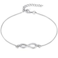 Rafaela Donata Armband Infinity Sterling Silber  silber Armband 1.0 st - 4250977711096