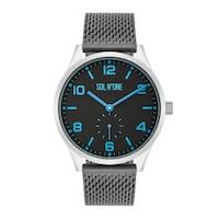 SOL N°ONE Quarzuhr silber Edelstahl grau Uhr 1.0 st - 4251338174444