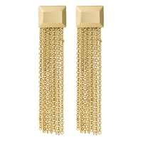 Pippa&Jean Ohrhänger Messing gelbgold Ohrring 1.0 st - 4251839907329