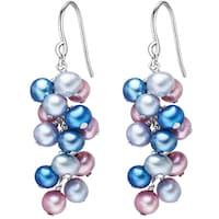 Valero Pearls Ohrhänger Sterling Silber Süßwasser-Zuchtperle silber Ohrring 1.0 st - 4250977719269