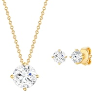 Rafaela Donata Schmuckset Sterling Silber mit Kristallen von Swarovski® Schmuck 1.0 st - 4251338176707
