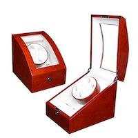 Lindberg & Sons Luxuriöser Uhrenbeweger für 2 Uhren+ Aufbewahrung 3 weitere Uhren Aufbewahrung 1.0 st - 4061962060408