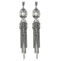 Pippa&Jean Ohrhänger Messing schwarz Ohrring 1.0 st - 4251839907848