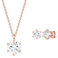 Rafaela Donata Schmuckset Sterling Silber mit Kristallen von Swarovski® Schmuck 1.0 st - 4251338176684