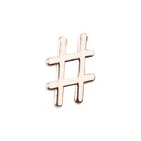 Desinas Charm Hashtag Haarschmuck 1.0 st - 4260381333418