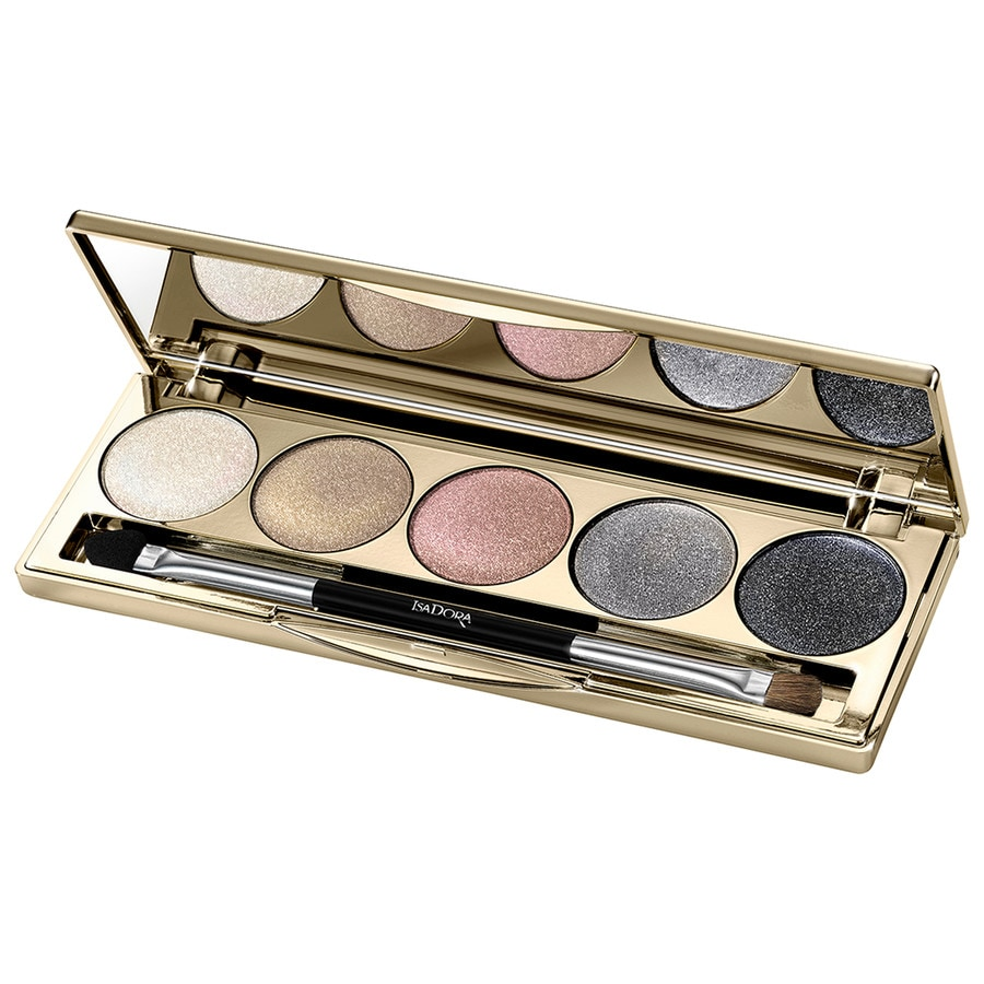 isadora eye shadow palette golden holiday