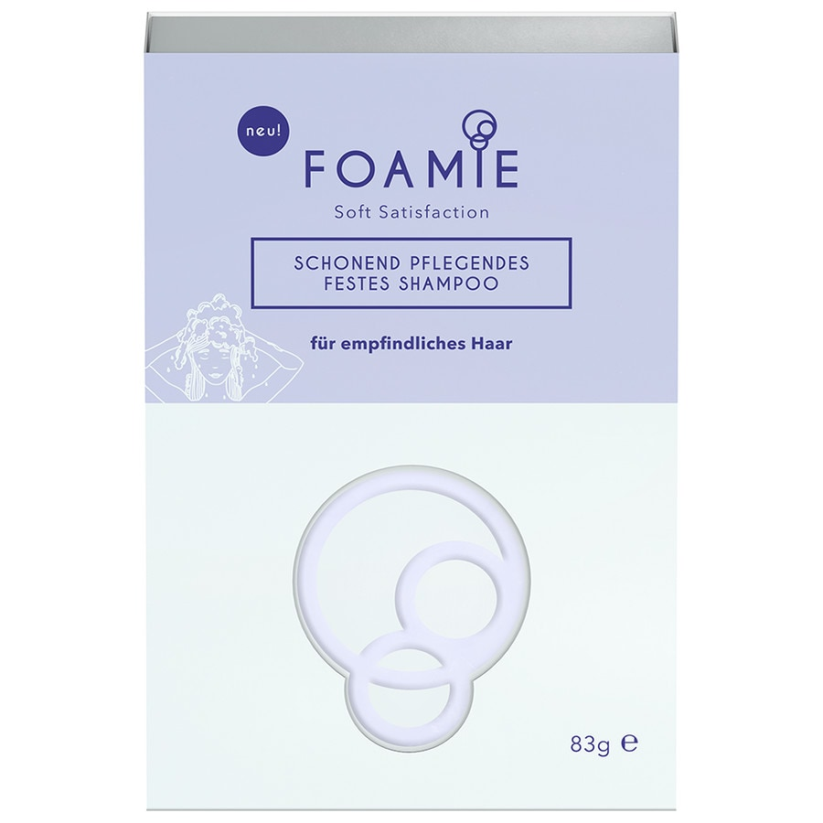 Foamie Fm Shampoo Bar Soft Satisfaction Festes Shampoo Haarshampoo
