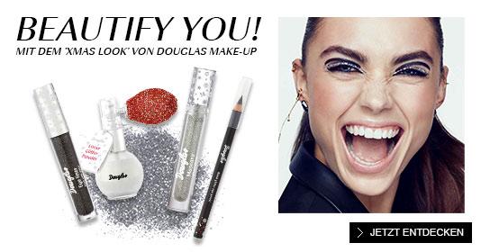 Douglas Make-up XMAS Look
