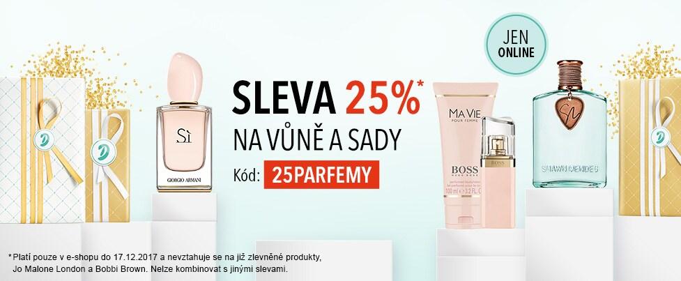 SLEVA 25% NA VŮNĚ A SADY