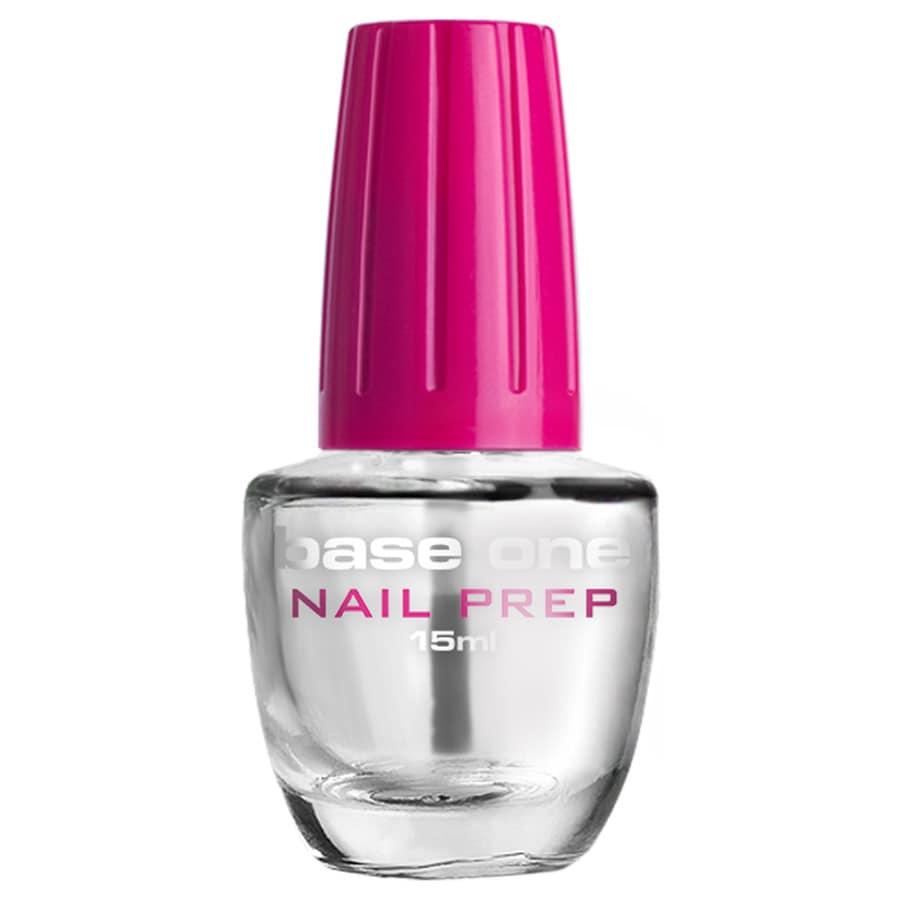 Base one pink nails