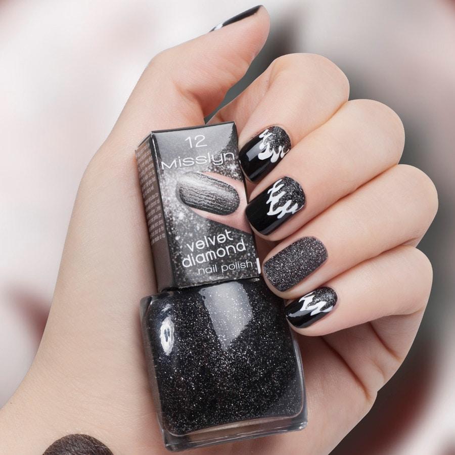 Misslyn Velvet Diamond Nail Polish Queen of Hearts Nagellack online ...