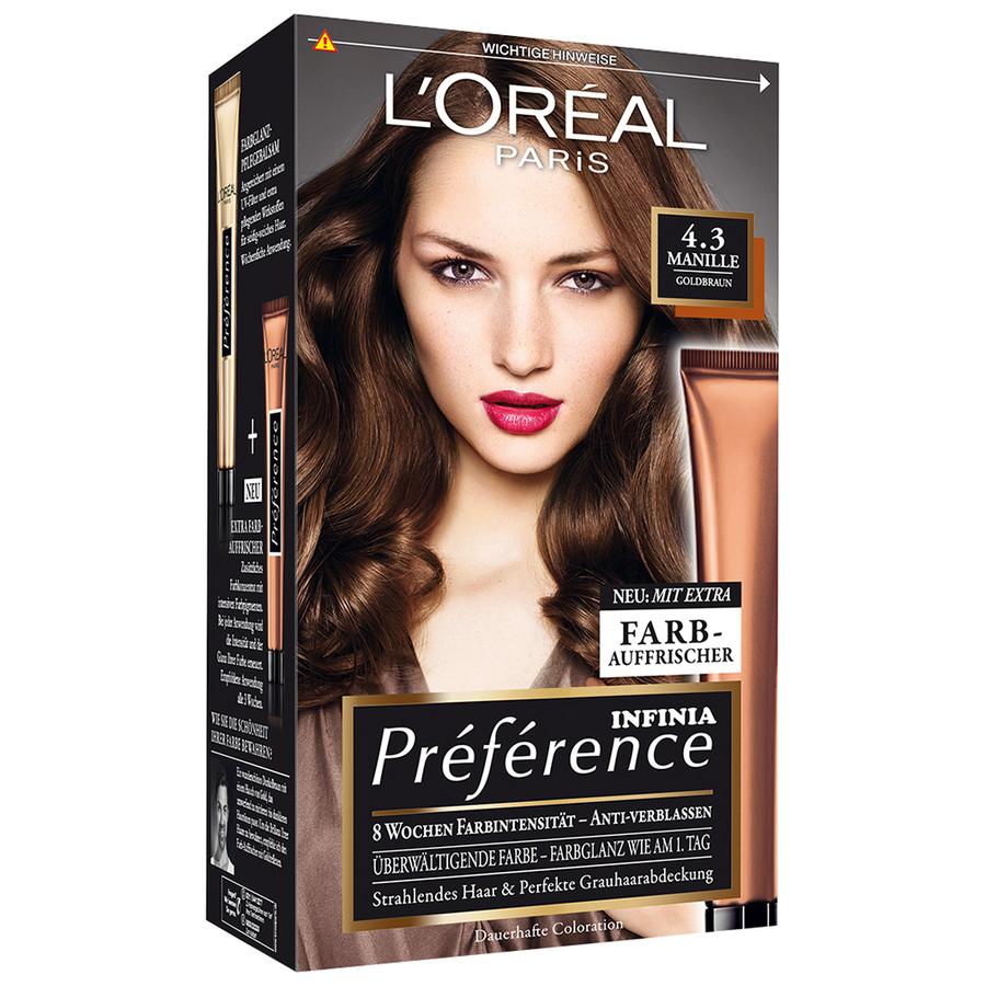 Haarfarbe loreal tonung