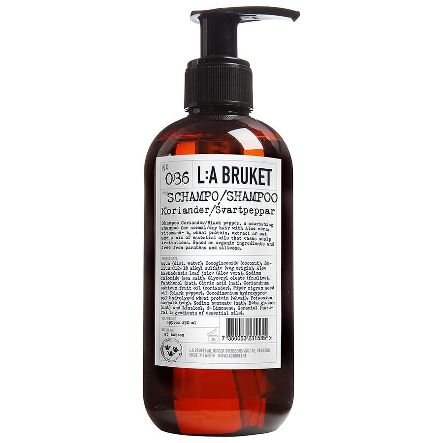 La Bruket No86 Corianderblack Pepper Shampoo Haarshampoo Online