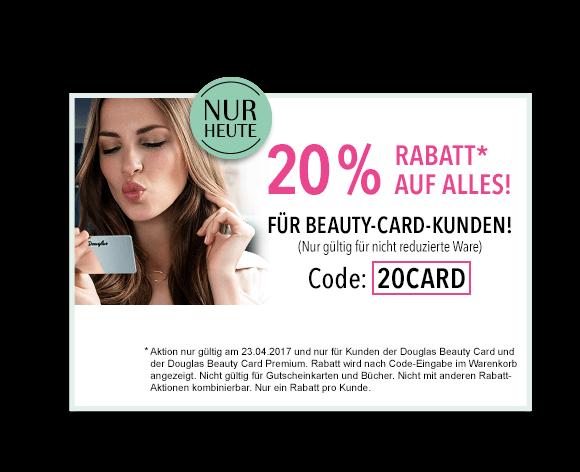 Beauty Card Rabatt