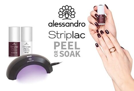 9879a29667c194 Atemberaubende Nägel zu jeder Gelegenheit – der alessandro Striplac Peel or  Soak hält bis zu 3 Wochen und zaubert Ihnen in ca. 15 Minuten perfekt  lackierte ...
