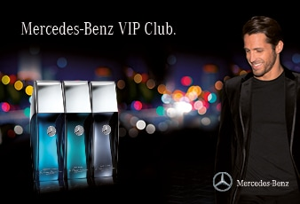 mercedes benz perfume vip club online kaufen bei. Black Bedroom Furniture Sets. Home Design Ideas
