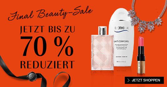 Final Beauty Sale 70 %
