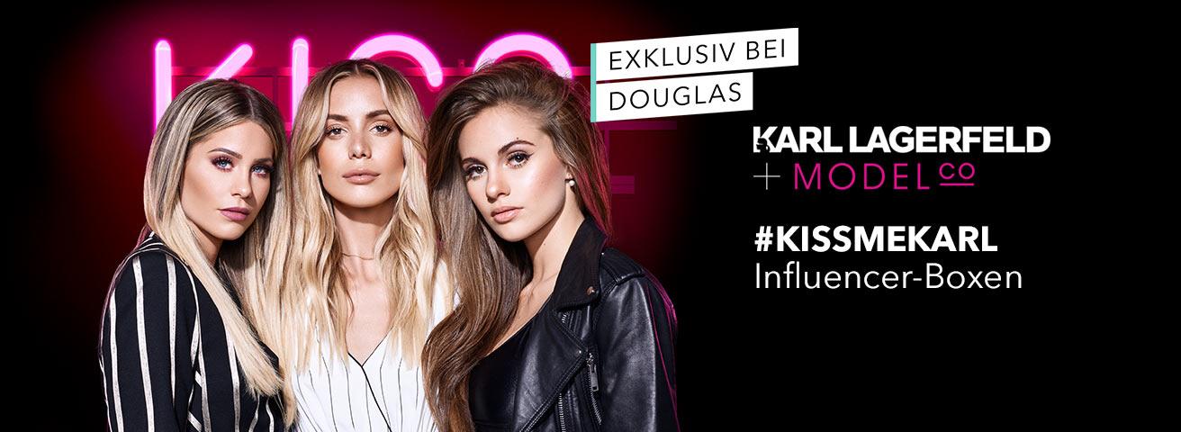 DOUGLAS #KISSMEKARL-Boxen