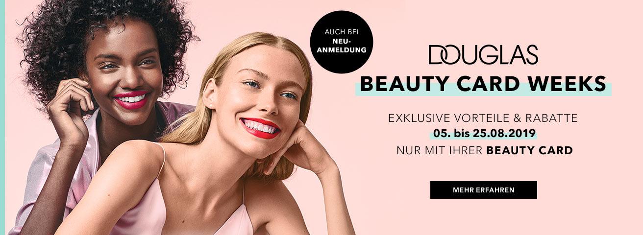 Beauty Card Weeks