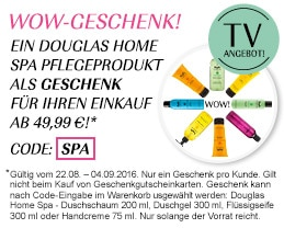 Dougals Home Spa Pflegeprodukt