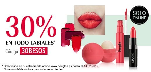 20% en todo maquillaje